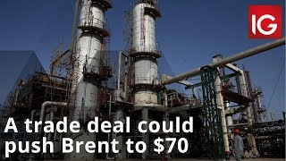 BRENT CRUDE OIL Oil news | A trade deal could push Brent to $70