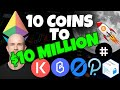 TOP ALTCOINS 2020 - 10 COINS TO $10 MILLION! Top Altcoins to GET RICH for August 2020