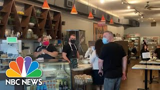 Employees Become Enforcers Of Mask Requirements As Tensions Grow | NBC Nightly News