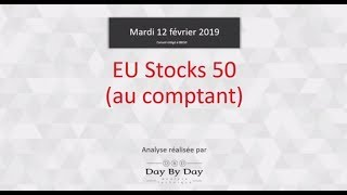 ESTOXX50 PRICE EUR INDEX Idée de trading : achat EU Stocks 50
