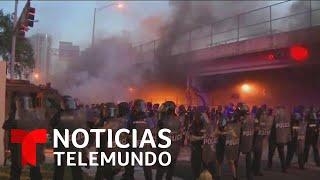 Violentas protestas en Miami tras la muerte de George Flyod