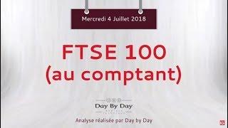 FTSE 100 Idée de trading : vente FTSE 100 au comptant