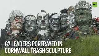 UK gets its own Rushmore...introducing Mount Recyclemore!