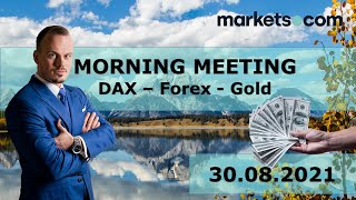 NASDAQ100 INDEX Jens Klatt aktuell: Gold, Dax, Nasdaq 100 - bullish