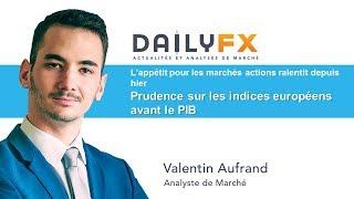 AUD/CHF Stratégies USD/JPY - AUD/CHF / L'euro se repli / Les indices progressent