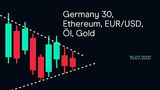 ETHEREUM Germany 30, Ethereum, EUR/USD,Öl, Gold ( CMC BBQ 15.07.21)