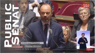 """""""Ma boussole à moi c'est le droit """" Edouard Philippe"""