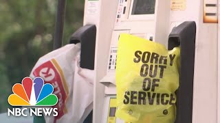Pipeline Restarting Operations Amid Frenzy At Gas Stations | NBC News