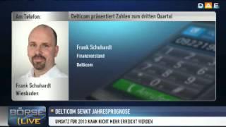 DELTICOM AGNA O.N. Delticom: Jahresprognose gekappt - Interview mit CFO Schuhar