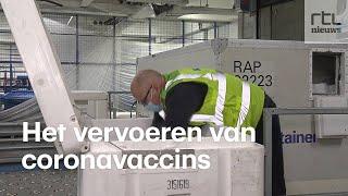 AIR FRANCE -KLM Zo gaat KLM de coronavaccins vervoeren