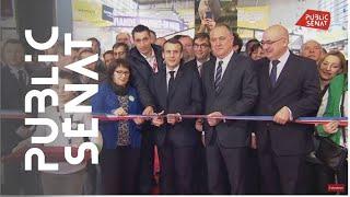 Emmanuel Macron inaugure le salon de l'agriculture