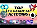 Top Low Market Cap Altcoins To Buy in This DeFi Bubble