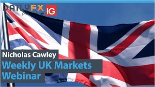 FTSE 100 GBP/USD, FTSE 100 and EUR/GBP Outlooks - UK Weekly Webinar