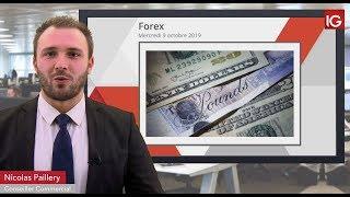 GBP/USD Bourse - GBPUSD, accroissement des tensions politiques - IG 09.10.2019