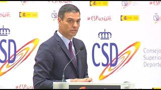 Pedro Sánchez destaca los valores del deporte en equipo