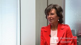 SANTANDER Interview with Santander's chairperson Ana Patricia Botín: corporate culture