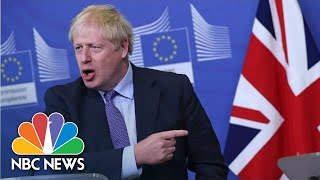'Now Is The Moment To Get Brexit Done': U.K. Prime Minister Hails E.U. Divorce Deal   NBC News