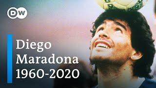 Diego Maradona tot: Fußballlegende stirbt mit 60 Jahren | DW Nachrichten