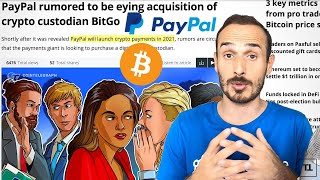 BITCOIN Tudor Jones + PayPal = BITCOIN Moon 🌝