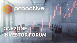INVESTOR AB [CBOE] Proactive ONE2ONE Virtual Investor Forum - Thursday September 16th 2021
