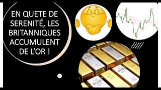 GOLD - USD Les Britanniques décident d'accumuler de l'or pour plus de sérénité (20/01/21)