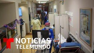 Los hospitales de 18 estados podrían colapsar dentro de un mes si continúan estas cifras de contagio