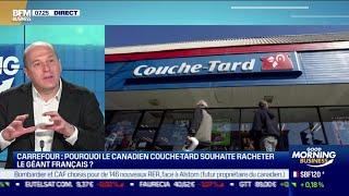 CARREFOUR Rodolphe Bonnasse (CA COM) : Le Québequois Couche-Tard souhaite racherter Carrefour