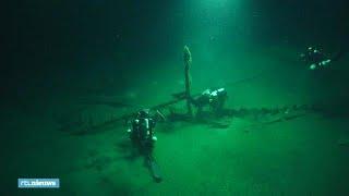 2400 jaar oud scheepswrak gevonden - RTL NIEUWS