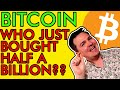 WHO IS BUYING $590,000,000 OF BITCOIN!?!? THE NEXT BIG BTC MOVE? [Price Won't Stay Here For Long]