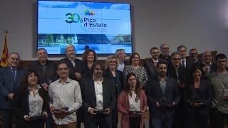 LLEIDA Diputación de Lleida entrega premios de comunicación Pica d'Estats
