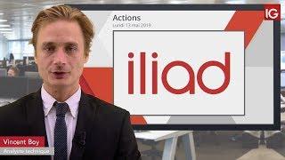 ILIAD Bourse   ILIAD, hausse d'objectif de cours   IG 13 05 2019