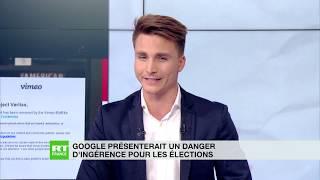ALPHABET INC. CLASS A Google présenterait un danger d'ingérence pour les élections