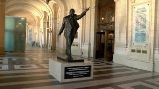 Dirigentes políticos y sociales recordaron a Néstor Kirchner en homenaje en el CCK