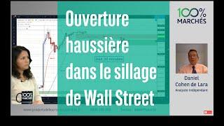 DOW JONES INDUSTRIAL AVERAGE Ouverture haussière dans le sillage de Wall Street - 100% Marchés - matin - 16/09/2021