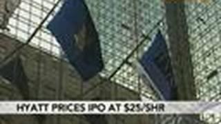 HYATT HOTELS CORP. Hyatt Hotels IPO Raises $950 Million at $25 a Share: Video