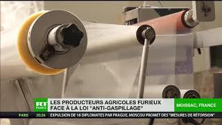 Les producteurs agricoles furieux face à la loi «anti-gaspillage»