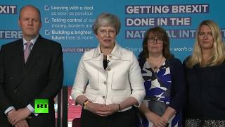 BRISTOL-MYERS SQUIBB CO. LIVE: Theresa May visits Bristol to campaign for European elections
