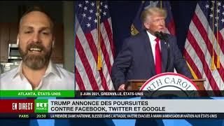 FACEBOOK INC. Facebook, Twitter, Google dans le viseur de Trump : «Ces entreprises contrôlent le discours public»