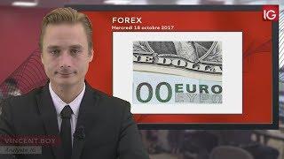EUR/USD Bourse - EUR/USD, reprise durable de la force dudollar? - IG 18.10.2017