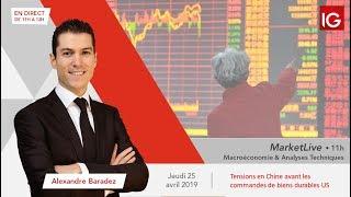 #MarketLive 11h - Jeudi 25 avril  2019