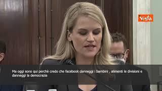"""FACEBOOK INC. Facebook, testimonianza shock dell'ex dipendente: """"Danneggia i bambini e mette in pericolo la ..."""