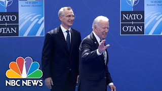 Biden, NATO Chief Agree Russia Is A Cause Of Concern