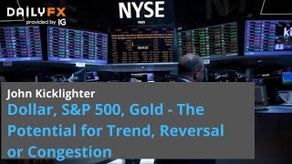GOLD - USD Dollar, S&P 500, Gold - The Potential for Trend, Reversal or Congestion