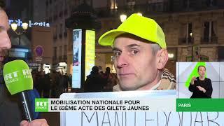 Sébastien, Gilet jaune : «On a un gouvernement qui nous ment, loi après loi, réforme après réforme»