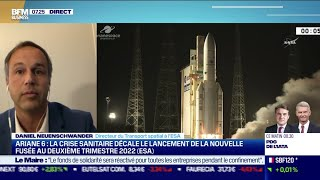 Daniel Neuenschwander (ESA) : La crise bouscule les grands programmes de l'ESA