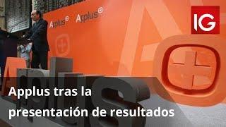 APPLUS SERVICES Applus tras la presentación de resultados