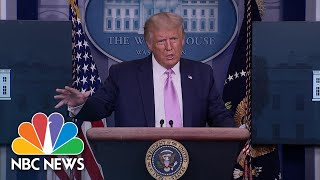 THE GOODYEAR TIRE & RUBBER CO. Trump Criticizes Goodyear For 'Playing Politics' By Banning MAGA Attire | NBC News NOW