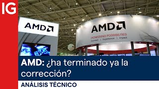 ADVANCED MICRO DEVICES INC. Análisis técnico   Advanced Micro Devices (AMD): ¿ha terminado ya la corrección?