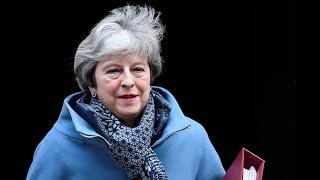 PMQs: UK Prime Minister Theresa May takes questions in parliament