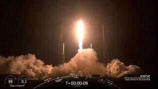 Internet de l'espace : SpaceX a lancé avec succès 60 mini-satellites